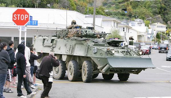 army monster bulldozer