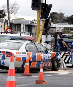 policewoam road rage