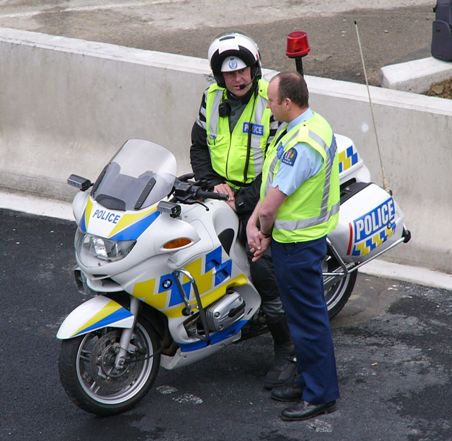 NZ_Police_Motorcycle