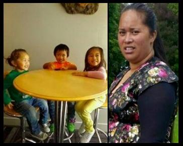Cindy George and her 3 kids